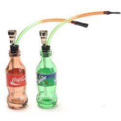 Bong pipa üdítős üveg