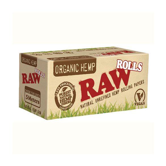 Cigarettapapír Raw rolls organic