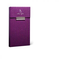 Cigarettatartó Adami Stefano slim lizard purple