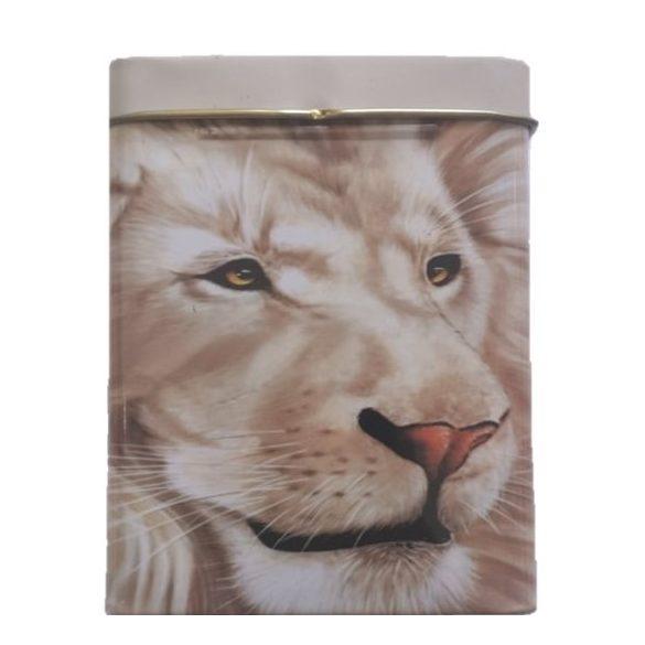 Cigarettatartó fém oroszlán