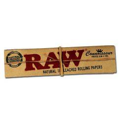 Cigarettapapír Raw ks+tip