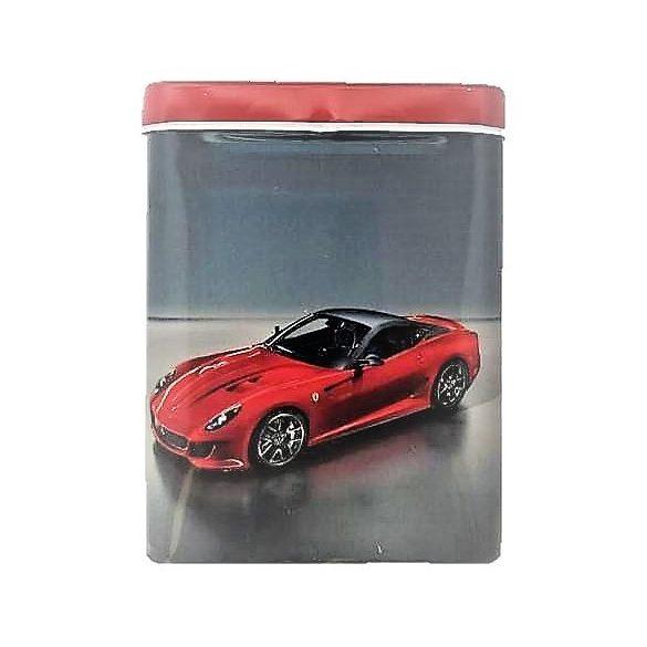 Cigarettatartó fém piros autó