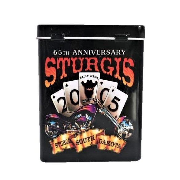 Cigarettatartó fém póker western