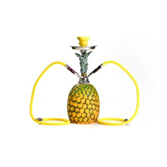 Vízipipa 45 cm 2 csöves ananász