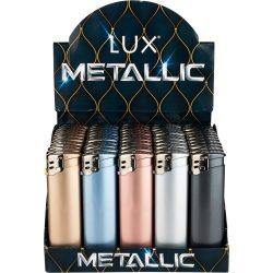 Öngyújtó Lux elektromos metál