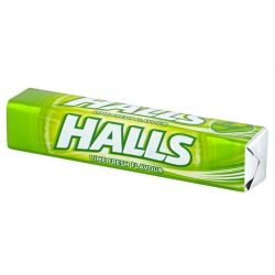 Halls lime fresh cukorka